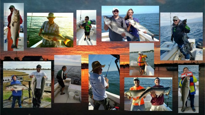 the best fishing charters in CT