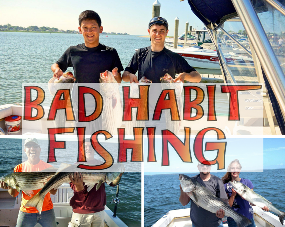 Bad habit fishing charters specializing in inshore for Fishing trips in ct